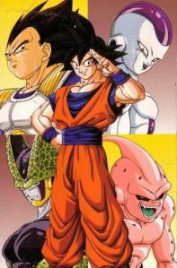 Son-Goku-VS-DBZ-Villains-dragon-ball-z-34918182-460-700