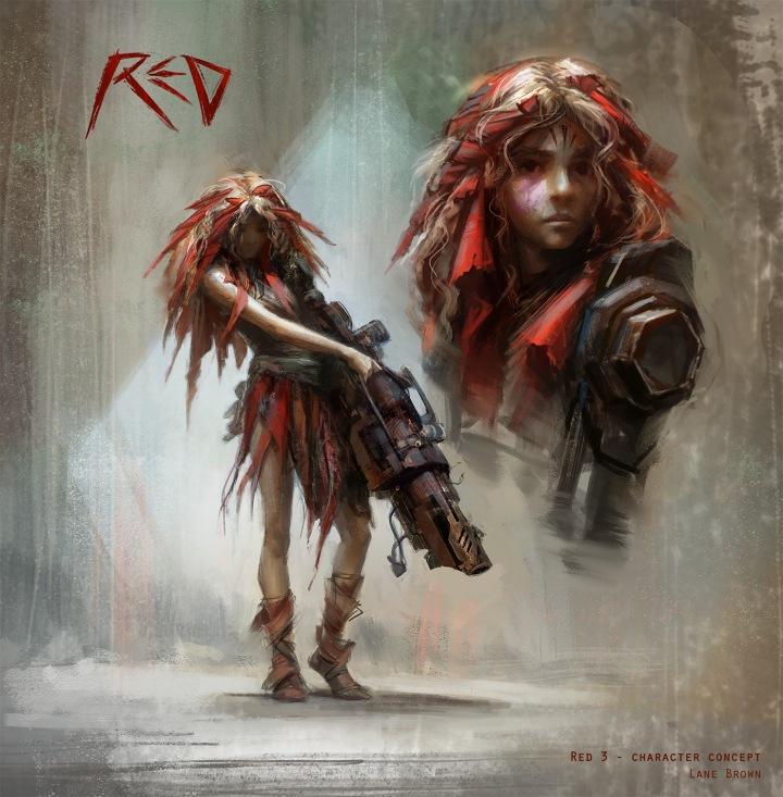 RedV2 LaneBrown