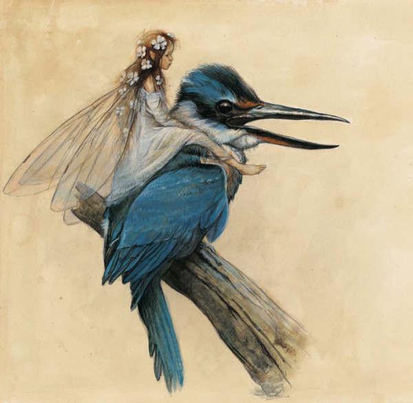 À La Recherche de Féerie - Faery and Kingfisher